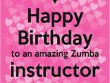 Zumba Birthday Card Happy Birthday Zumba Quotes Quotesgram