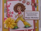 Zumba Birthday Card Wishcraft Zumba Chick My Crafty Heart Dt